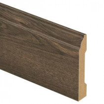 Country Oak Dusk 9/16 in. Thick x 3-1/4 in. Wide x 94 in. Length Laminate Wall Base Molding