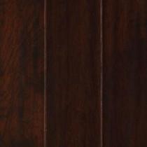 Chocolate Hickory 1/2 in. x 5.25 in. x Random Length Soft Scraped Engineered UNICLIC Hardwood Flooring (23 sq. ft./case)