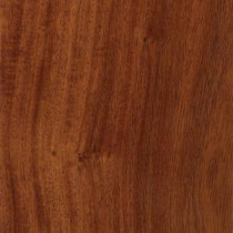 Santos Mahogany 3/8 in. T x 5 in. W x 47-1/4 in. L Click Lock Exotic Hardwood Flooring (26.25 sq. ft. / case)