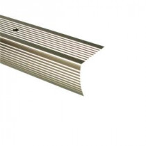 36 in. Pewter Fluted Stair Edging