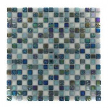 Capriccio Scafati 12 in. x 12 in. x 8 mm Glass Mosaic Floor and Wall Tile