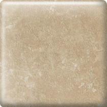 Sandalo Acacia Beige 2 in. x 2 in. Ceramic Radius Bullnose Corner Wall Tile