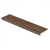 Coffee HS Hickory 47 in. Long x 12-1/8 in. Deep x 1-11/16 in. Height Laminate to Cover Stairs 1 in. Thick