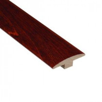 High Gloss Birch Cherry 3/8 in. Thick x 2 in. Wide x 78 in. Length Hardwood T-Molding