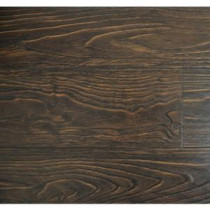 Espresso Color 15.3 mm Thick x 6-1/2 in. Wide x 48 in. Length Laminate Flooring (20.83 sq. ft. / case)