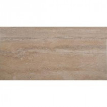 Trevi Beige 12 in. x 24 in. Glazed Porcelain Floor and Wall Tile (16 sq. ft. / case)