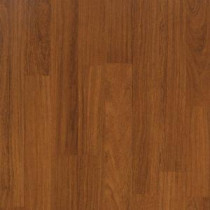 Tortola Teak Laminate Flooring - 5 in. x 7 in. Take Home Sample