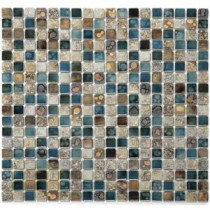 Terrene Vale 12 in. x 12 in. x 6 mm Porcelain Mesh-Mounted Mosaic Tile (10 sq. ft. / case)
