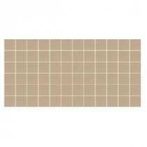 Keystone Unglazed Elemental Tan Speckle 12 in. x 24 in. x Porcelain Mosaic Floor/Wall Tile (24 sq. ft. / case)