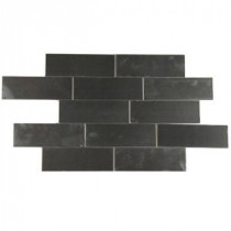 Stainless Steel 2 in. x 6 in. Stainless Steel Floor and Wall Tile