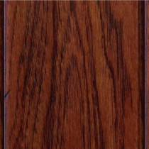 Hand Scraped Hickory Tuscany 3/8 in. Thick x4-3/4 in. Widex47-1/4 in. Length Click Lock Hardwood Flooring(24.94sq.ft/cs)