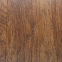 Hand-Scraped Light Hickory 12 mm Thick x 5.28 in. Wide x 47.52 in. Length Laminate Flooring (12.19 sq. ft. / case)