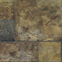 Tuscan Stone Terra Laminate Flooring - 5 in. x 7 in. Take Home Sample