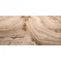 Pergamo Avorio 12 in. x 24 in. Porcelain Floor and Wall Tile (11.64 sq. ft. / case)