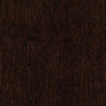 Hand Scraped Strand Woven Walnut 1/2in. Thick x4.92 in.Wide x 72-7/8in. Length Solid Bamboo Flooring(24.89 sq.ft./case)