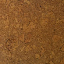 Bronzed Fossil Cork Flooring - 5 in. x 7 in. Take Home Sample