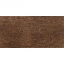 Riflessi Di Legno 23-7/16 in. x 11-11/16 in. Walnut Porcelain Floor and Wall Tile (9.51 sq. ft. / case)