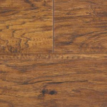 Hometown Hickory Sable Laminate Flooring - 5 in. x 7 in. Take Home Sample