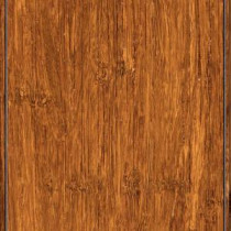 Brushed Strand Woven Cane 3/8 in. Thick x 3-7/8 in. Wide x 36-1/4 in. Length Solid Bamboo Flooring (23.41 sq. ft. /case)