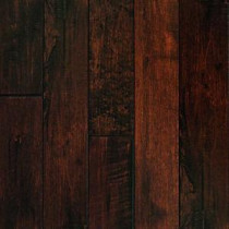 HandScraped Maple Chocolate 3/4 in. Thick x 3-1/4 in. Width x Random Length Solid Hardwood Flooring (20 sq. ft./case)