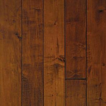 Handscraped Maple Spice 1/2 in. Thick x 5 in. Wide x Random Length Engineered Hardwood Flooring (31 sq. ft. / case)