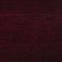Strand Woven Cherry 3/8 in. Thick x 5-1/8 in. Wide x 72 in. Length Click Lock Bamboo Flooring (25.75 sq. ft. / case)