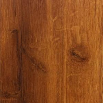 High Gloss Hawaiian Koa Caramel 8 mm Thick x 5-1/2 in. Wide x 47-7/8 in. Length Laminate Flooring (14.63 sq.ft./case)