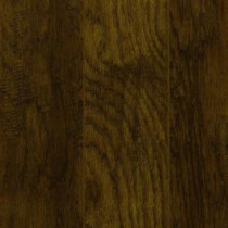 Hand-Scraped Tanned Hickory 12 mm Thick x 5.28 in. Wide x 47.52 in. Length Laminate Flooring (12.19 sq. ft. / case)