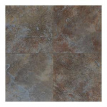 Continental Slate Tuscan Blue 18 in. x 18 in. Porcelain Floor and Wall Tile (18 sq. ft. / case)