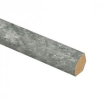 Lago Slate 5/8 in. Thick x 3/4 in. Wide x 94 in. Length Laminate Quarter Round Molding