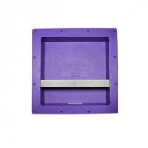 14 in. x 14 in. x 3.75 in. Large Square Niche with Shelf Set