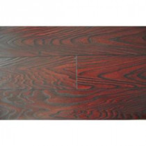 Mahogany Color 15.3 mm Thick x 6-1/2 in. Wide x 48 in. Length Laminate Flooring (20.83 sq. ft. / case)