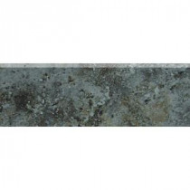 Heathland Ashland 2 in. x 6 in. Glazed Ceramic Bullnose Wall Tile