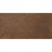 Cotto Bruno 12 in. x 24 in. Glazed Porcelain Floor and Wall Tile (16 sq. ft. / case)