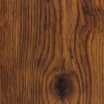 Hand Scraped Oak Burnt Caramel 8 mm Thick x 5-1/2 in. Wide x 47-7/8 in. Length Laminate Flooring (14.63 sq.ft./case)