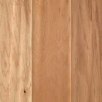 Country Natural Hickory 3/8 in. x 5.25 in. x Random Length Soft Scraped UNICLIC Hardwood Flooring (22.5 sq. ft. / case)