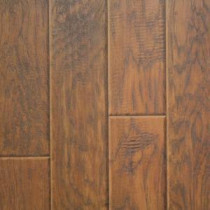 Henna Hickory Laminate Flooring - 5 in. x 7 in. Take Home Sample