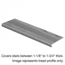 Natural Oak 47 in. Length x 12-1/8 in. Deep x 2-3/16 in. Height Laminate to Cover Stairs 1-1/8 in. to 1-3/4 in. Thick