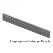 Jujube 94 in. Length x 1/2 in. Depth x 7-3/8 in. Height Laminate Riser to be Used with Cap A Tread