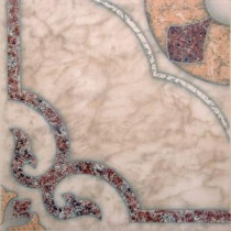 Cordoba Oro 16 in. x 16 in. Glazed Ceramic Floor and Wall Tile (23.14 sq. ft. / case)