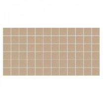 Keystone Unglazed Elemental Tan Speckle 12 in. x 24 in. x Porcelain Mosaic Floor/Wall Tile (24 sq. ft. / case)