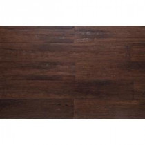 Strand Woven Hand Scraped 1/2 in. Thick x 5-1/8 in. Wide x 72-7/8 in. Length Solid Bamboo Flooring (25.88 sq. ft. /case)