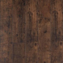 XP Rustic Espresso Oak Laminate Flooring - 5 in. x 7 in. Take Home Sample