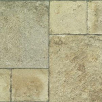 Tuscan Stone Sand 8 mm Thick x 15-1/2 in. Wide x 46-2/5 in. Length Click Lock Laminate Flooring (20.02 sq. ft. / case)