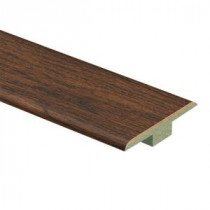 Alameda Hickory 7/16 in. Height x 1-3/4 in. Wide x 72 in. Length Laminate T-Molding