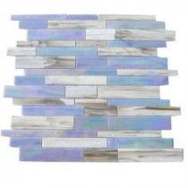Matchstix Fate 10 in. x 11 in. x 8 mm Glass Floor and Wall Tile (0.82 sq. ft.)