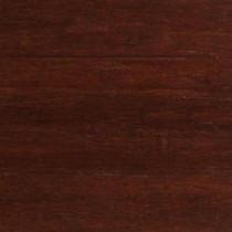 Strand Woven Dark Mahogany Click Lock Engineered Bamboo Flooring - 5 in. x 7 in. Take Home Sample