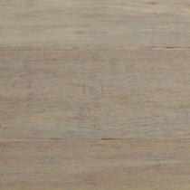 Handscraped Strand Woven Driftwood 3/8 in. x 5-1/8 in. x 36 in. Click Engineered Bamboo Flooring (25.625 sq. ft. / case)