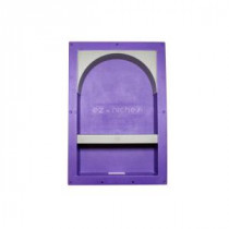 22.75 in. x 14.25 in. x 3.75 in. Large Rectangular Arch with Shelf Set