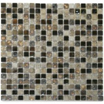 Terrene Solstice 12 in. x 12 in. x 6 mm Porcelain Mesh-Mounted Mosaic Tile (10 sq. ft. / case)